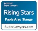 Paola Stange Superlawyer Badge